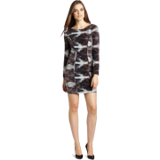 Rebecca Minkoff - Clothing Women's Freja Shift Dress Ink Blot - Dresses - $498.00
