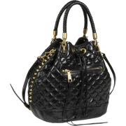 Rebecca Minkoff Edged Quilt Confession Slouch Bag Black - Bag - $391.99