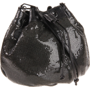 Rebecca Minkoff Mesh Pouchette Wallet Black - Wallets - $150.00