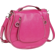 Rebecca Minkoff Vanity Crossbody - Lizard Electric Pink - Bag - $395.00