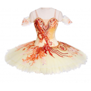 Red and orange ballet dress - My look -