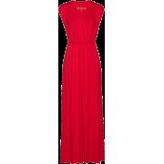 Red dress - Dresses -