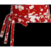 Red obi belt - Remenje -