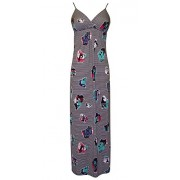 Retro Pop Art Photo Print Sundress Maxi Dress - Dresses - $59.99