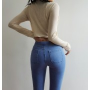 Retro wild jeans high waist jeans women' - Jeans - $29.99  ~ 25.76€