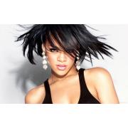 Rihanna w/Fly Away Hair - My look -