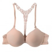 Romacci Front Closure Bra by Womens Lace Push-up Racerback Bra - Underwear - $10.29