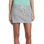 Roxy Juniors Sand Skirt Gray - Skirts - $36.50