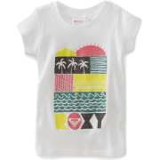 Roxy Kids Baby-Girls Infant-Vacation Please Tee Sea Salt - T-shirts - $18.00