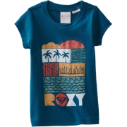 Roxy Kids Baby-Girls Infant-Vacation Please Tee deep sea - T-shirts - $18.00