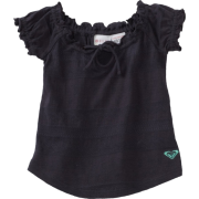 Roxy Kids Baby-girls Infant Goof Off Top Blue/Black - Top - $29.50