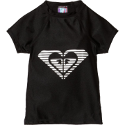 Roxy Kids Girl's 7-16 Indian Sunset Rashguard Black - T-shirts - $32.00