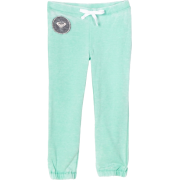 Roxy Kids Girls 2-6X Roxy Teenie Wahine - Blue Skies Fleece Pant Sage - Hlače - duge - $20.20  ~ 128,32kn