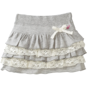 Roxy Kids Girls 2-6x Good To Go Mini Skirt Heritage Heather - Skirts - $35.11