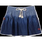 Roxy Kids Girls 7-16 Matter Of Fact Skirt Chambray - Gonne - $21.26  ~ 18.26€