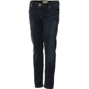 Roxy Skinny Slides Denim Pant - Girls' Greasy Indigo Rinse - Pants - $37.13