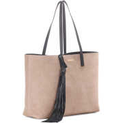 SAINT LAURENT Suede shopper - Bolsas pequenas -
