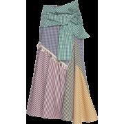 SILVIA TCHERASSI multicolor skirt - Skirts -