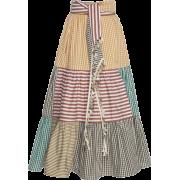 SILVIA TCHERASSI patchwork skirt - Skirts -