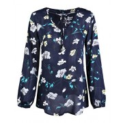 STYLEWORD Women's Long Sleeve Casual Summer Shirt Blouse Tops - Shirts - $35.99