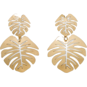 SUGARFIX by BaubleBar Palm Leaf Earrings - イヤリング - $12.99  ~ ¥1,462