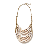 Salt Flats Bib Necklace anthropologie - Necklaces -
