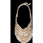 Salt Flats Bib Necklace anthropologie - Halsketten -