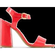 Sandals,Leather sandals,Women - Sandals - $111.99