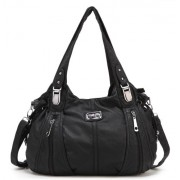 Scarleton Center Zip Shoulder Bag H1474 - Hand bag - $22.99