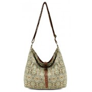 Scarleton Chic Fabric Shoulder Bag H1909 - Hand bag - $9.99