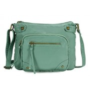 Scarleton Chic Tri Zip Crossbody Bag H2000 - Hand bag - $9.99