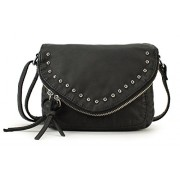 Scarleton Chic Zipper Flap Crossbody Bag H1716 - Hand bag - $9.99