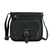 Scarleton Trendy Belt Flap Crossbody Bag H1975 - Hand bag - $6.99