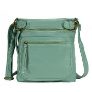 Scarleton Tri Zip Belt Accent Crossbody Bag H1984 - Hand bag - $6.99
