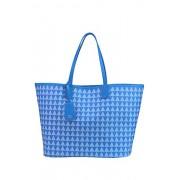 Schutz Women's MCGLBRE03160E Blue Leather Tote - Accessories - $310.00