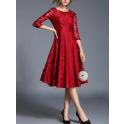 See Through Lace Dress - sukienki - $31.00  ~ 26.63€