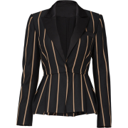 Self Portrait pinstripe blazer - Jacket - coats -