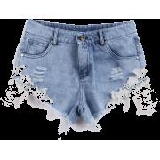 Shorts,Summer,Denim Shorts - Shorts - $100.00