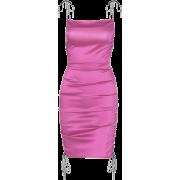 Side drawstring pleated suspender dress - Vestidos - $21.99  ~ 18.89€