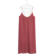 Silk Tie-Back Slip Dress - Kleider - $158.00  ~ 135.70€