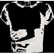 Silk crop top - T-shirts -
