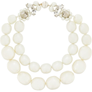 Simone Rocha double faux-pearl bracelet - Braccioletti -