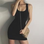 Skinny Sleeveless Hip Skirt - 连衣裙 - $19.99  ~ ¥133.94