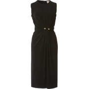 Sleeveless Draped Jersey Dress ELIE SAAB - Dresses -