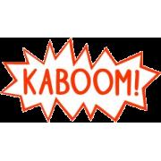 kaboom text cloud - 插图用文字 -