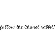 follow the chanell - 插图用文字 -