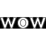 wow - 插图用文字 -