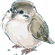 Small bird - Ilustrationen -