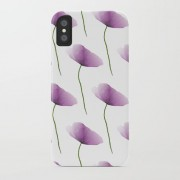 Society6 iPhone case Purple poppies - Other - $35.99