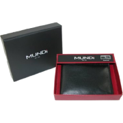 Soft Slim Fold Wallet Black - Wallets - $12.95